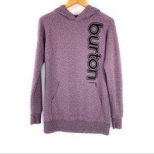 Burton Purple Hoodie Sweatshirt